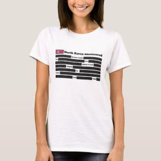 Coreia do Norte uncensored Camiseta