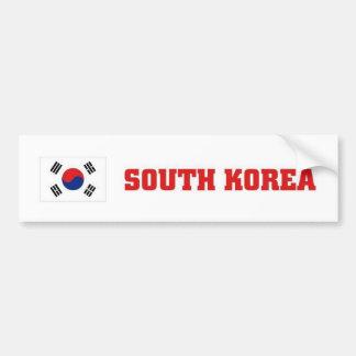 Coreia do Sul Adesivo Para Carro