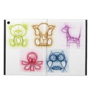 Cores animais capa para iPad air