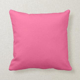 Cores australianas - verde-clara & cor-de-rosa almofada