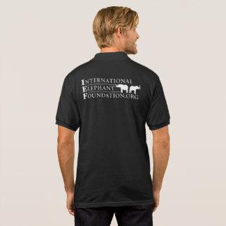 Cores Camisa-Escuras do polo de IEF