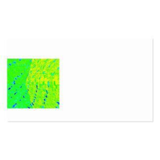 Cores da arte dos peixes do golfinho de Mahi Mahi Modelos Cartão De Visita