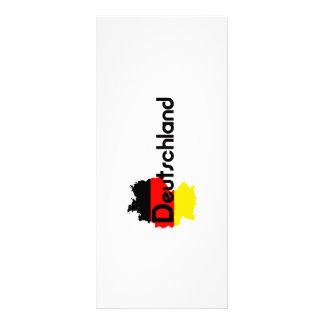 Cores da bandeira da alemanha! planfetos informativos coloridos