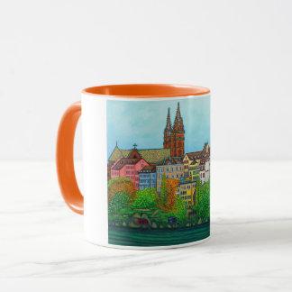 Cores da caneca de café de Basileia por Lisa