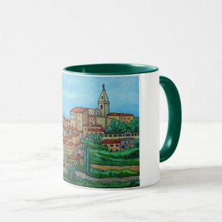 Cores de Crillon-le-Brava, caneca de café de