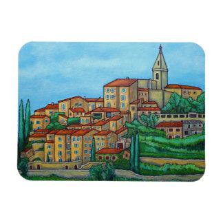 Cores de Crillon-le-Bravo, ímã de Provence