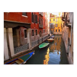 Cores de Veneza, Italia Cartão Postal