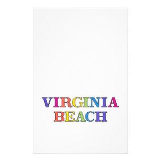 Cores de Virginia Beach Flyer 13.97 X 21.59cm
