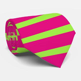 Cores diy de PixDezines/listras ajustáveis Gravata