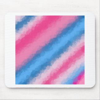 Cores do arco-íris do algodão doce mousepad