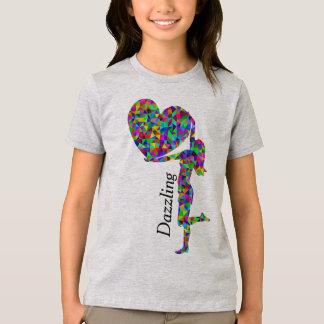 cores do brilho camiseta