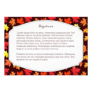 Cores do cartão dos sentidos do casamento do convites personalizado