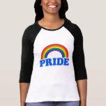 Cores do orgulho tshirt