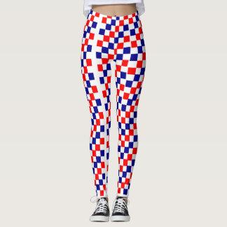 Cores dos EUA que legging