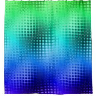 Cores legal da matriz de ponto cortinas para chuveiro