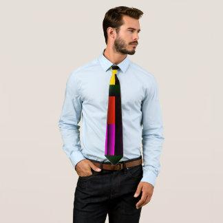 Cores Lisas-Para fora da gravata dos homens