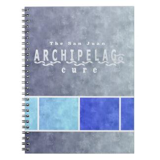 Cores litorais do caderno do arquipélago de San
