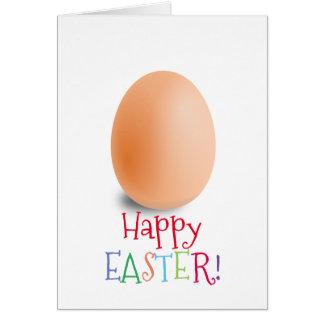 Cores Pastel da proposta simples do ovo de felz Cartão Comemorativo