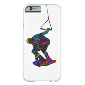 Cores selvagens do Wakeboarder Capa Barely There Para iPhone 6