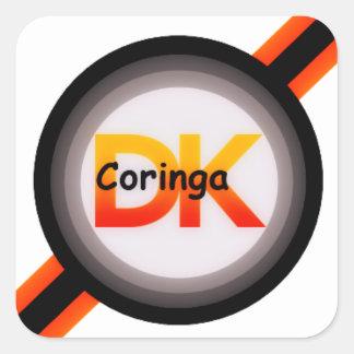 Coringa DK Adesivo Quadrado