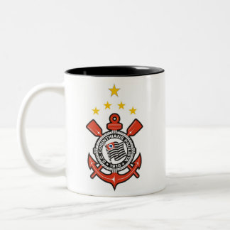 Corinthians Caneca Dois Tons