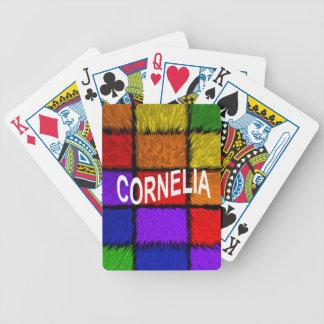 CORNELIA JOGO DE BARALHO