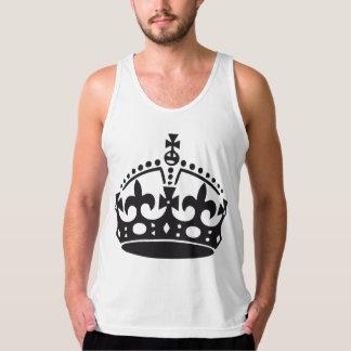 Coroa britânica real regata