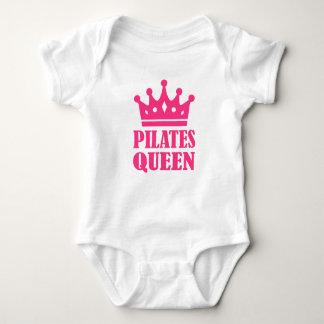 Coroa da rainha de Pilates Tshirts