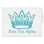 Coroa de ZTA com ZTA Cartao