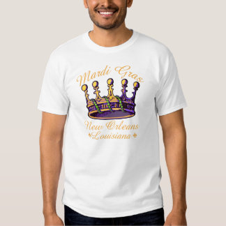 Coroa do carnaval t-shirt