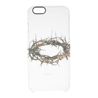 Coroa do exemplo do cristão de IPhone 5 de Capa Para iPhone 6/6S Transparente