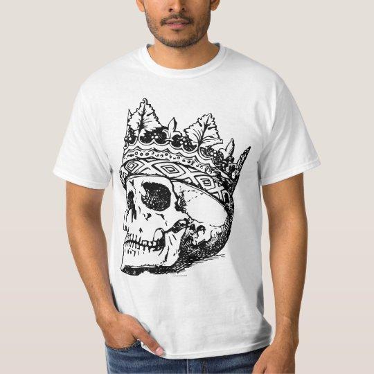 Coroa e Caveira Camiseta