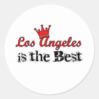 Coroa Los Angeles Adesivo