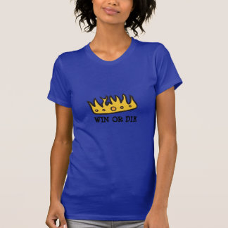 Coroa obtida (do rei brutal da coruja de buzina) camisetas