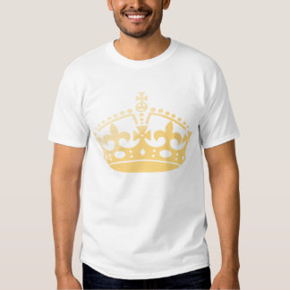 Coroa unisex do jubileu do salão de beleza do camisetas