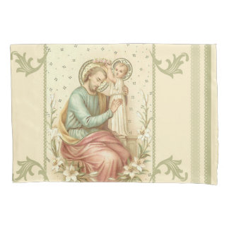 Coroação de St Joseph pela criança Jesus