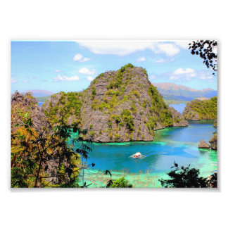 Coron em Palawan Impressão De Foto