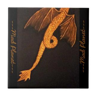 Corpo de bronze do dragão