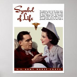 Corpo de enfermeira do exército -- Segunda guerra  Poster