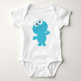 Corpo do bebê do monstro do biscoito body para bebê