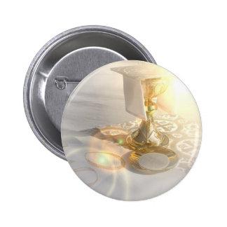 Corpo do botão do cristo bóton redondo 5.08cm