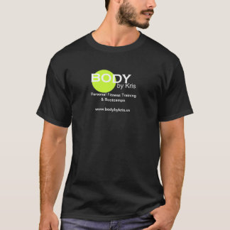 Corpo pela mercadoria do logotipo de Kris Camiseta