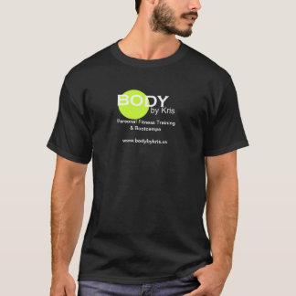 Corpo pela mercadoria do logotipo de Kris T-shirts