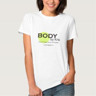 Corpo pela mercadoria do logotipo de Kris Tshirts