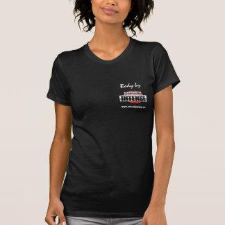 Corpo por naturalmente intenso para mulheres t-shirts