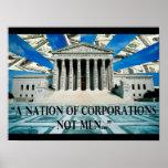 Corporatacracy Poster