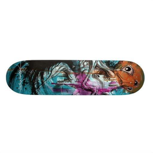 "Corpos de Alex Pardee ""Stoomach "" Skate Boards"