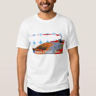 Corpus Christi, donzela da costa de Texas - T Tshirts