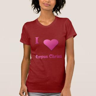 Corpus Christi -- Rosa quente Tshirts