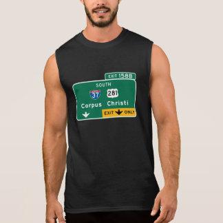 Corpus Christi, TX Camiseta Sem Manga